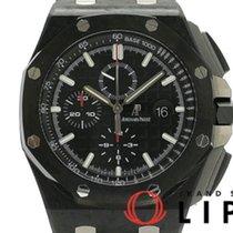 오드마피게 로열오크 오프쇼어 크로노그래프 중고시계 44mm 검정색