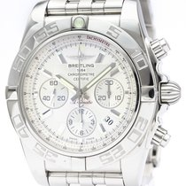 Breitling Steel 44mm Automatic AB0110 pre-owned