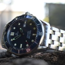 Omega Seamaster Diver 300 M Steel 41mm Blue No numerals United States of America, Hawaii, Honolulu