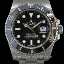 Rolex Submariner Date Acier 40mm Noir France, Paris