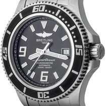 Breitling Superocean 44 Steel 44mm Black Arabic numerals United States of America, Texas, Dallas