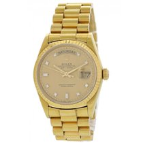 Rolex Day-Date 36 18038 Very good Yellow gold 36mm Automatic