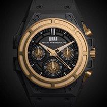 Linde Werdelin Titan 44mm Automatik Linde werdelin  A.SPS.BG gold titan spidospeed chronograph gebraucht