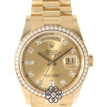 Rolex Day-Date 36 Yellow gold