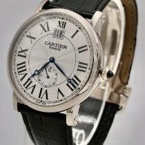 Cartier Rotonde de Cartier White gold 42mm Silver Roman numerals United Kingdom, NW1 4PT