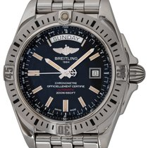 Breitling Galactic 44 Steel 44mm Black United States of America, Texas, Austin