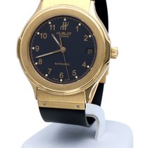 ウブロ (Hublot) Classic Mens Watch Yellow Gold 18 krt (36 mm)