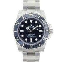 Rolex Submariner/No Date/Ceramic Bezel/ Black Dial/REF: 114060