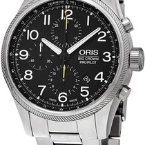 Oris Big Crown ProPilot Chronograph Steel Black United States of America, New York, Brooklyn