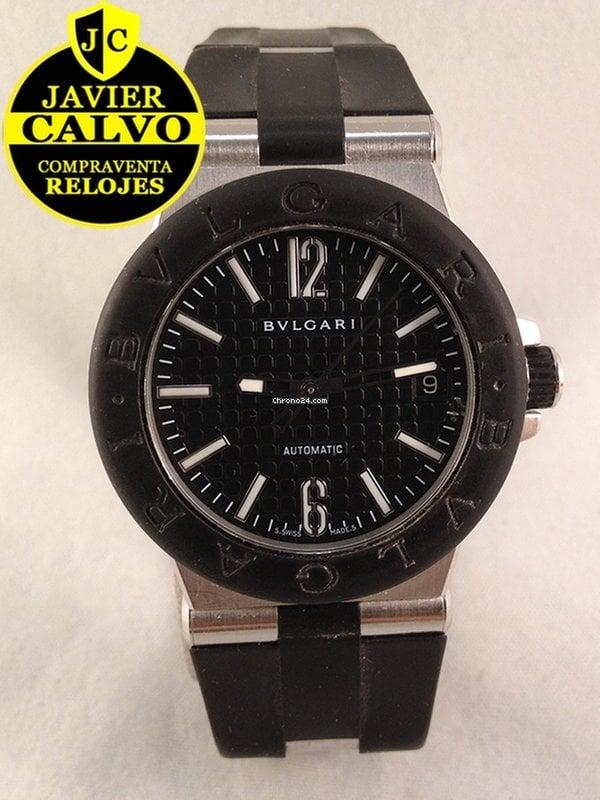 b65b7f01db6 Relojes Bulgari Diagono de segunda mano