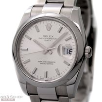 Rolex Date Ref-115200 Stainless Steel Box Papers Bj-2009