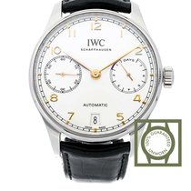 IWC Portugieser 7 Days Automatic 42.3mm Crocodile Strap