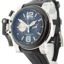 Graham Chronofighter Oversize 2OVBV-1 Chronograph Watch...