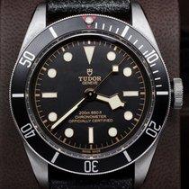 帝陀 (Tudor) Black Bay Black 41mm Stainless Steel on Leather Ref...
