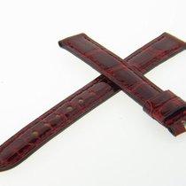 Σοπάρ (Chopard) 13mm Cherry Red Crocodile Watch Band Strap