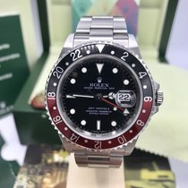 Rolex GMT Master II 16710 Unpolished mint Full Set Box & Papers Z