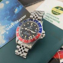 "Rolex 1675 GMT-Master"" Pepsi""/  B & P/ Mark I Blatt  von 1972"