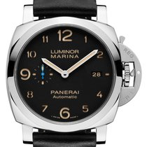Panerai Luminor Marina 1950 3 Days Automatic Steel 44mm Black Arabic numerals United States of America, New York, New York