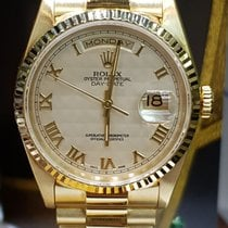 Rolex Day-Date yellow gold rare cream dial