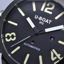 U-Boat Classico 53mm Left Hook IFO Black