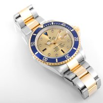 Rolex 2004 TT Submariner Factory Serti Dial 16613 model w/ Box