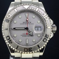Rolex Yacht-Master 40MM Steel, Box&Papers/2011 Silver Dial MINT