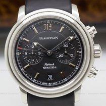 Blancpain 2182F-1130A-71 Leman Aqua Lung Flyback Chronograph...