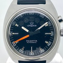 Lemania pre-owned Automatic 41mm Black Plexiglass