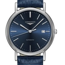 Longines Présence Steel 38.50mm Blue No numerals United States of America, Florida, Tarpon Springs