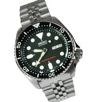 Seiko SKX007K2 Steel 2018 Prospex 42mm new