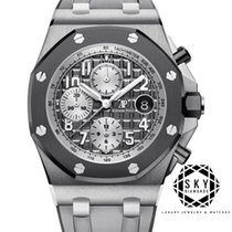 Audemars Piguet Royal Oak Offshore Chronograph Titanium 42mm Grey Arabic numerals United States of America, New York, NEW YORK