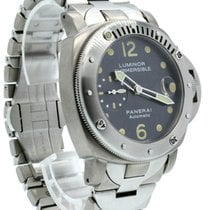 Panerai Blue 44mm pre-owned Luminor Submersible