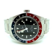 Tudor Black Bay GMT Acero 41mm Negro Sin cifras España, LOS BARRIOS
