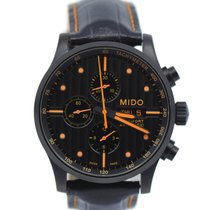 Mido Multifort Steel 44mm Black United States of America, New York, New York
