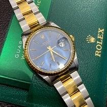 Rolex Oyster Perpetual Date Золото/Cталь 34mm Синий Россия, Санкт-Петербург