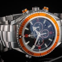 Omega Seamaster Planet Ocean Chronograph 22185000 2009 pre-owned