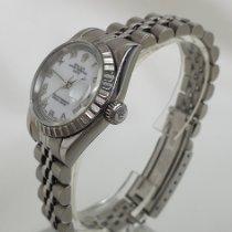 Rolex Oyster Perpetual Lady Date Acero 26mm Blanco Romanos España, Santiago de Compostela