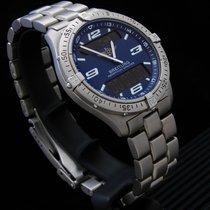 Breitling Aerospace Titan 40mm Blau Arabisch