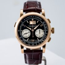 A. Lange & Söhne Datograph Rose gold 39mm Black United States of America, Massachusetts, Boston