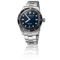 Oris Divers Sixty Five Acier 40mm Bleu France, Paris 1er