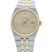Rolex Oysterquartz Datejust 18k YG & S/S 17013