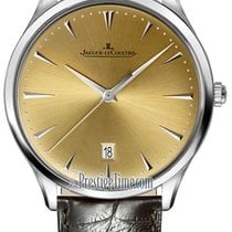 Jaeger-LeCoultre Master Ultra Thin Date Acero 40mm Champán