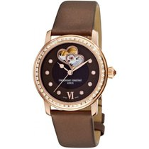 Frederique Constant Ladies Automatic Double Heart Beat Staal 34mm