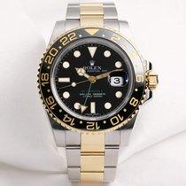Rolex GMT-MASTER II 116713 LN Steel & Gold
