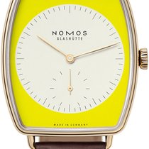 NOMOS Rose gold 38.5mm Manual winding Lux new United States of America, New York, Airmont