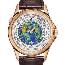 Patek Philippe Complications Rose Gold World Time Self Winding