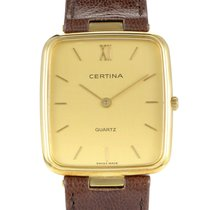 Certina pre-owned Quartz 22.5mm Champagne
