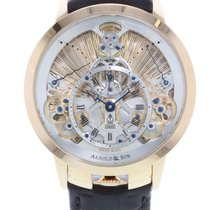 Arnold & Son Time Pyramid 1TPAR.S01A.C125A 18K Rose Manual...