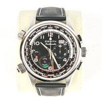 真力时 Pilot Chronograph El Primero Doublematic