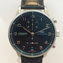 IWC Portuguese Portoghese Chronograph wit Papers just Serviced